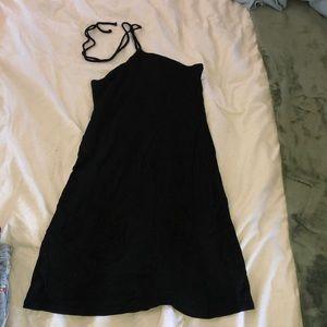 brandy melville halter mini dress
